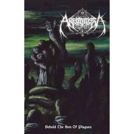 "Akrotheism - ""Behold the Son of Plagues"" pro tape"