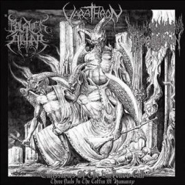 "Black Altar / Varathron / Thornspawn - ""Emissaries of the Darkened Call"" clear Lp"