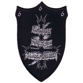 Darkened Nocurn Slaughtercult - patch - logo, high quality, USA
