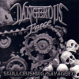 "Dangerous Force / Solitude - 7"" split"