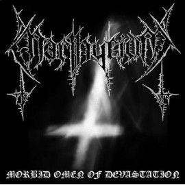 "Marthyrium - ""Morbid Omen of Devastation"" 7"""