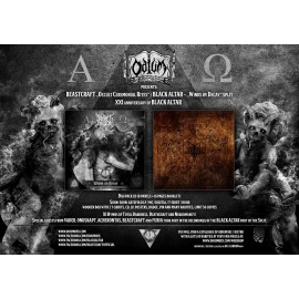 "BEASTCRAFT / BLACK ALTAR - ""Occult Ceremonial Rites"" / ""Winds ov Decay""  - digi CD -"