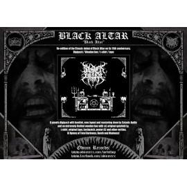 "Black Altar - ""Black Altar"" Wooden BOX - preorder"