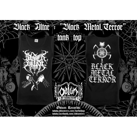 "Black Altar ""Black Metal Terror"" - athletic t-shirt"