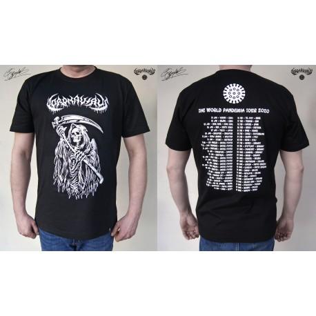 """Coronavirus - """"World Pandemia Tour 2020"""" - T-shirt"""