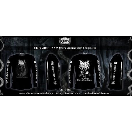 "Black Altar  - ""XXV Anniversary"" Longsleeve"