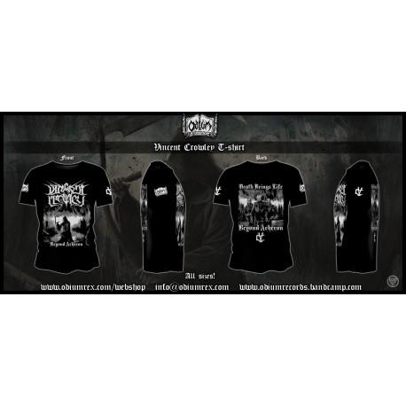 """VINCENT CROWLEY - """"Beyond Acheron"""" T-shirt"""