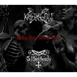 "Kriegsgott / Silberbach- ""In the End-Eternal Silence"" split metal box A5"