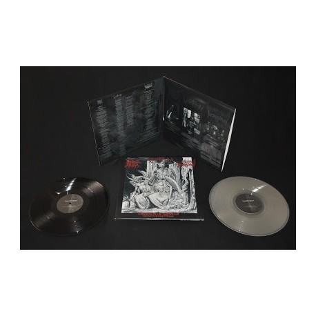 "Black Altar / Varathron / Thornspawn - ""Emissaries of the Darkened Call"" split black Lp"
