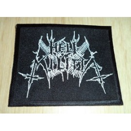 Hell Militia - logo - patch, high quality (USA)