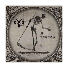 """KRV / Foscor - """"The Burial's Flavours"""" cd"""
