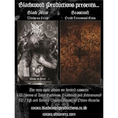 Black Altar / Beastcraft - split tape