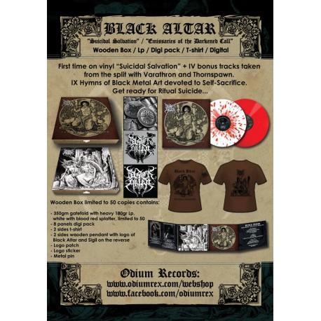BLACK ALTAR - Suicidal Salvation / Emissaries of the Darkened Call BOX PREORDER