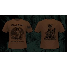 BLACK ALTAR - Suicidal Salvation / Emissaries of the Darkened Call T-shirt PREORDER