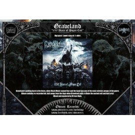 "Graveland ""1050 years of Pagan Cult"" digi cd"
