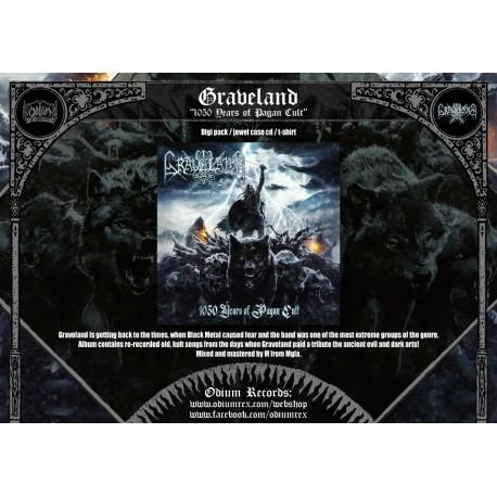 "Graveland ""!050 years of Pagan Kult"" digi cd Preorder"