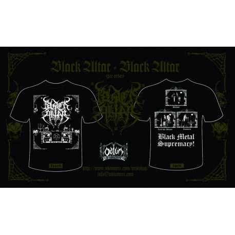 """Black Altar - """"Black Altar"""" - t-shirt"""