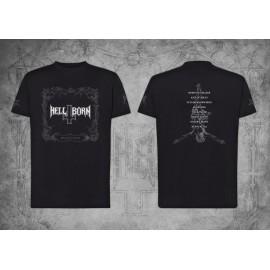 "HELL-BORN - ""Natas Liah"" T-shirt Pre order"