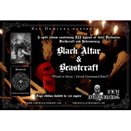 Black Altar / Beastcraft - Deus Inversus / Occult Ceremonial Rites
